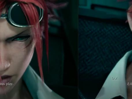 Final Fantasy 7 Remake Reno