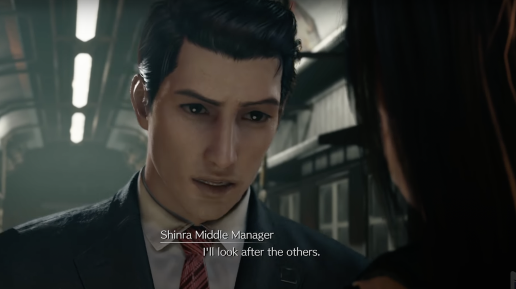 SHINRA middle manager