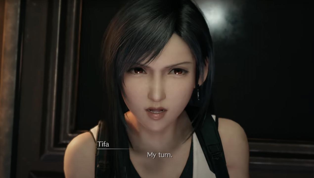 """FF7R Tifa """"My turn"""""""